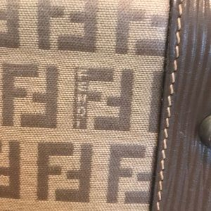 Fendi Bags - Fendi Boston bag Authentic